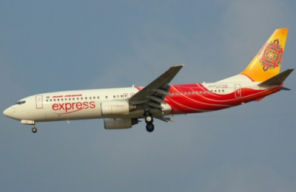 Atterrissage dur pour un avion de Air India Express